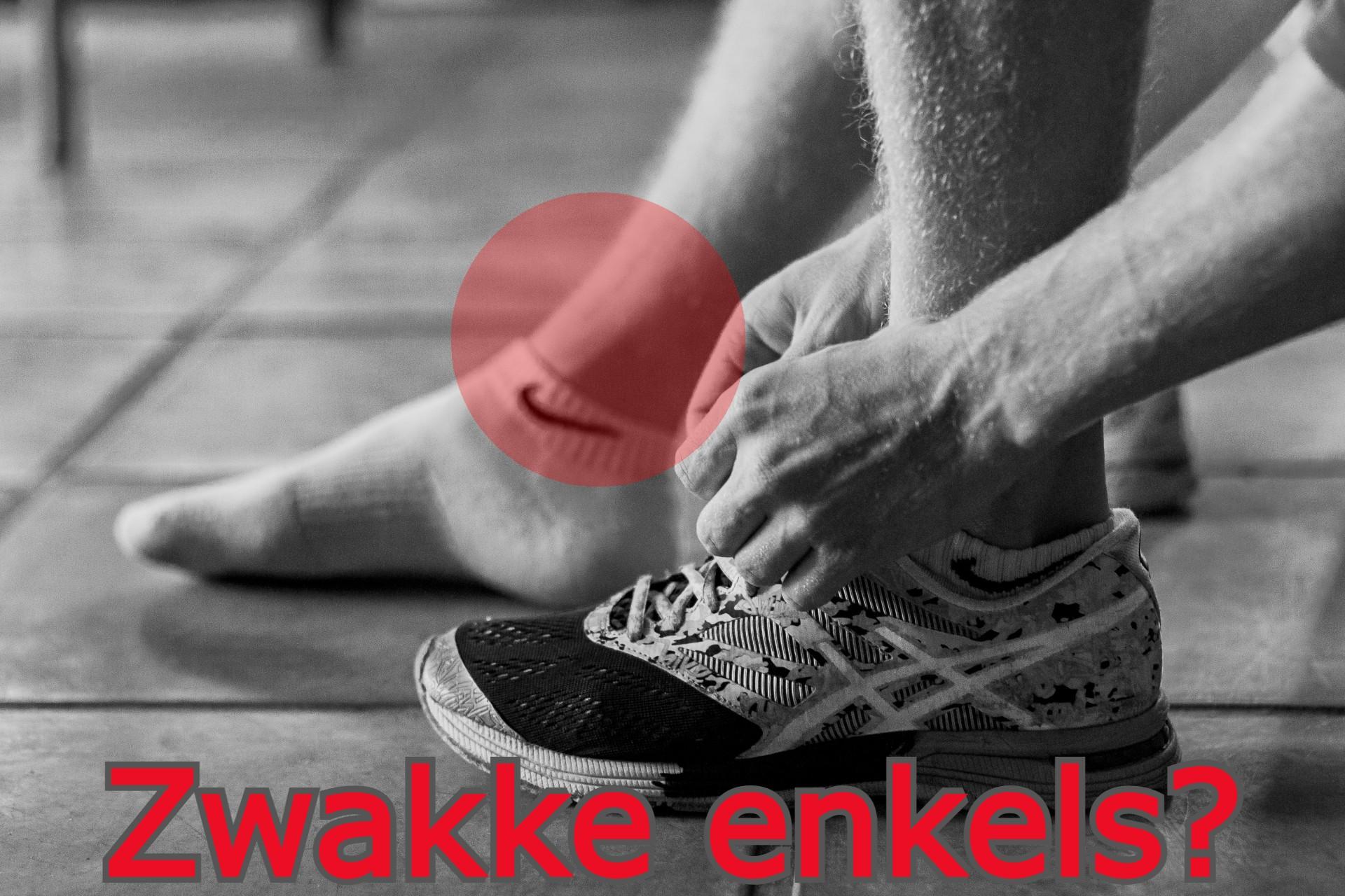 zwakke enkel verstuiking verzwikken personal trainer Enschede sport Marloes
